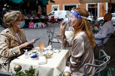 El día de la gran reapertura en Roma después de 69 días de cierre casi total, el 18 de mayo pasado