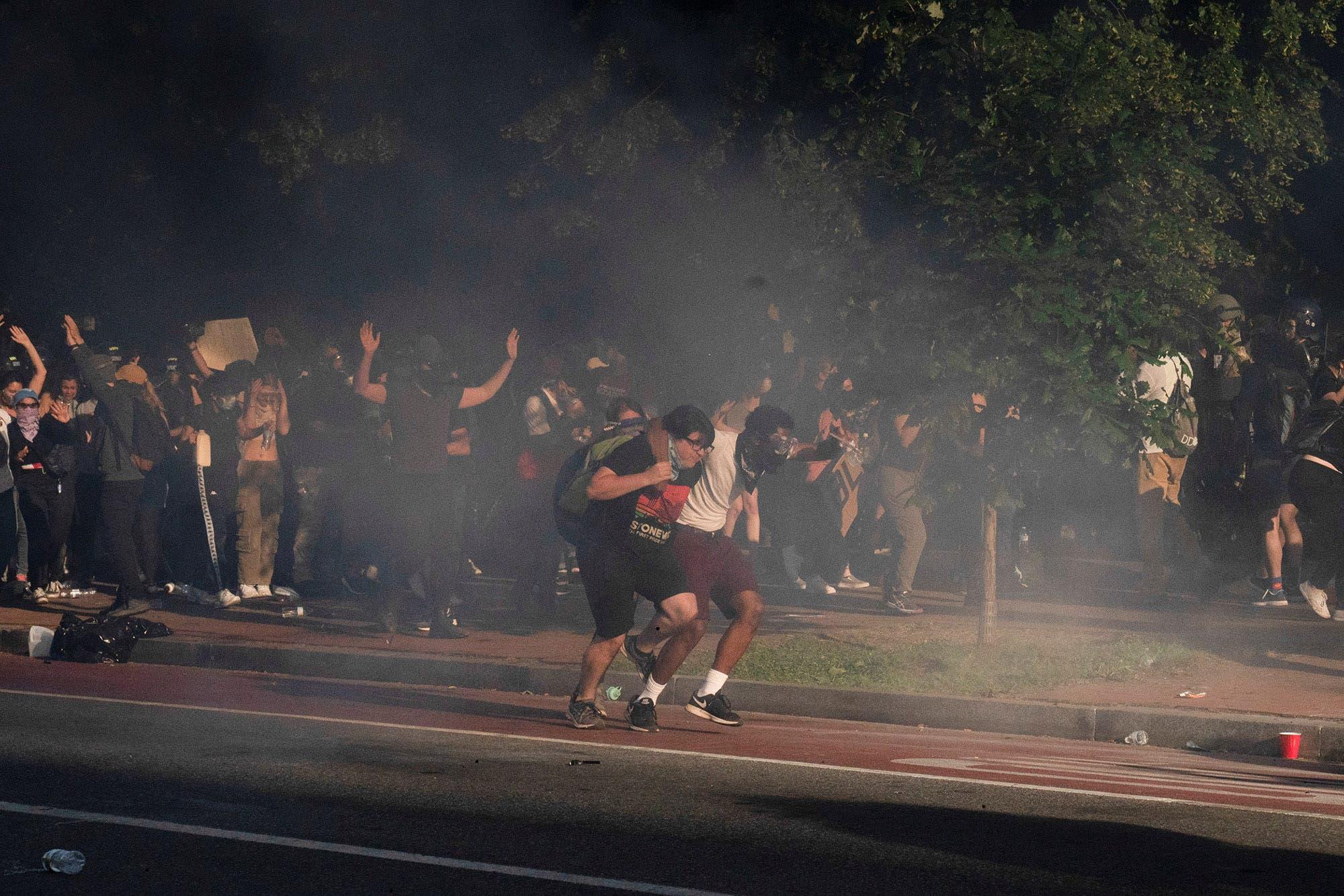 Protestas: la tensión racial en EE.UU. profundiza la polarización política