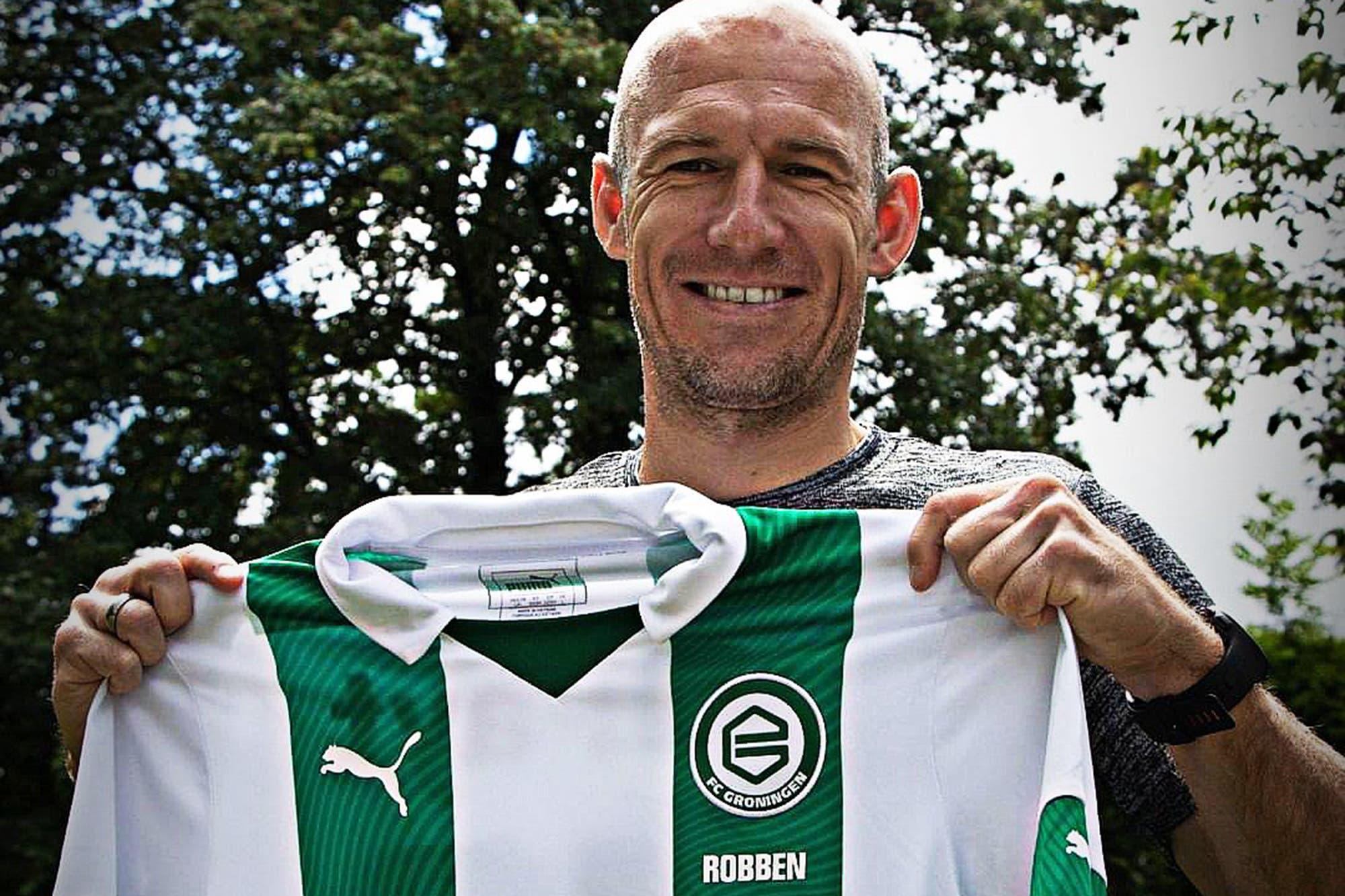Duró poco retirado: a los 36 años, Arjen Robben anunció su regreso al fútbol