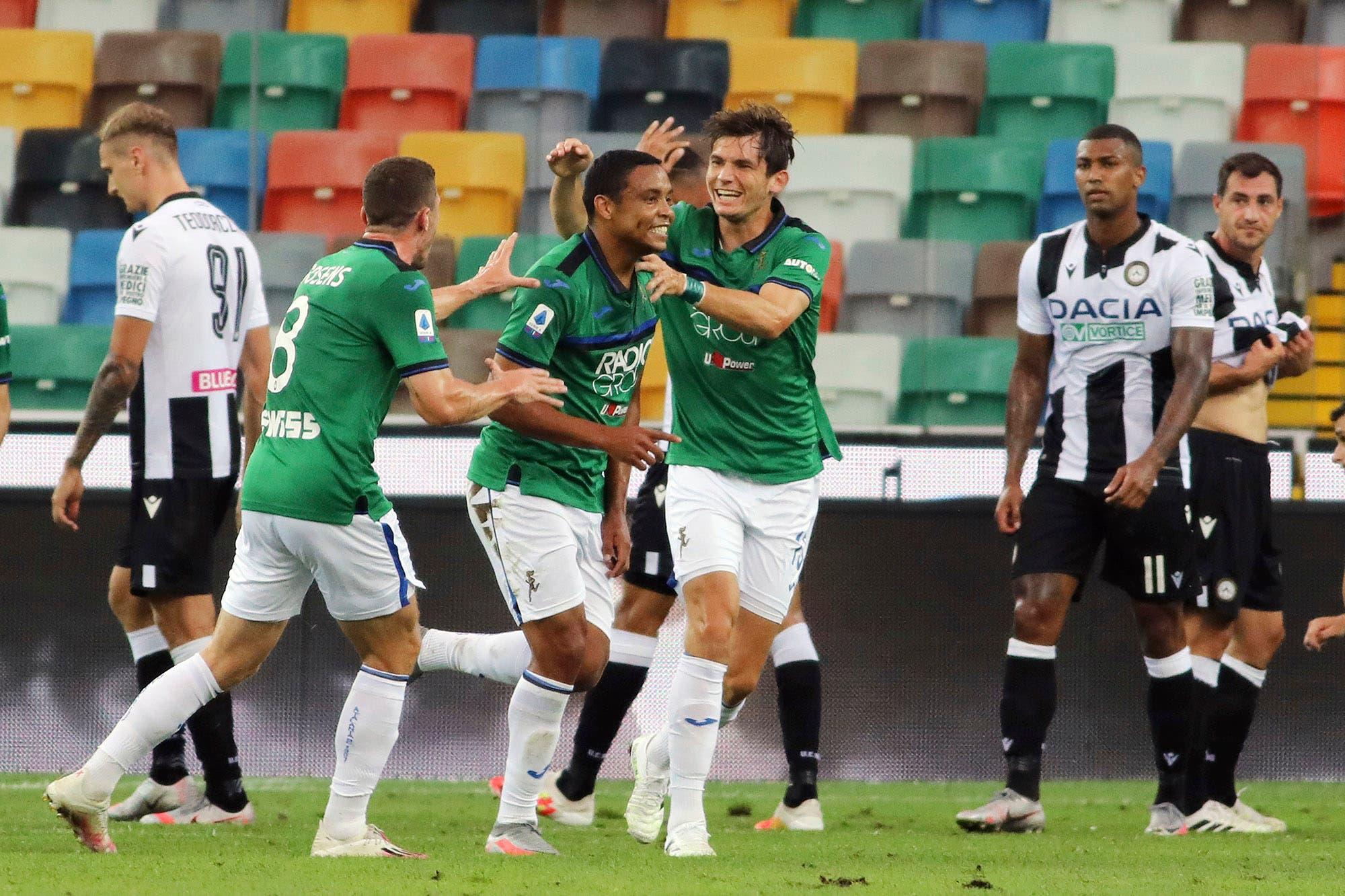 Serie A: las dos joyitas de Luis Muriel para Atalanta, el equipo que revoluciona el fútbol italiano