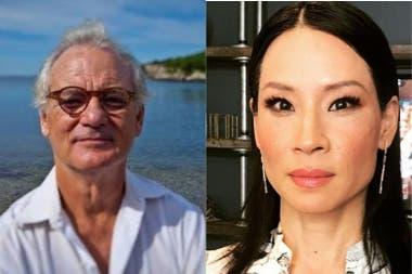 Bill Murray y Lucy Liu: problemas de egos