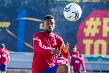 Ousmane Dembélé podría ser una de las opciones de Koeman en el ataque de Barcelona.