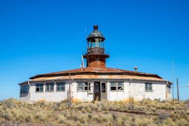 Fue declarado Monumento Histórico de la Nación en 2016. Tiene una construcción circular de 11 lados y una escalera caracol que lleva hasta la cima, a 91 metros sobre el nivel del mar.