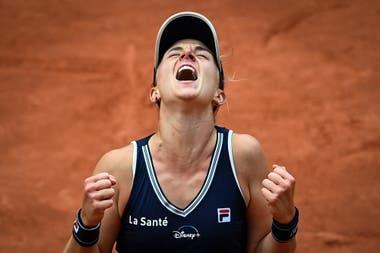 Podoroska poderosa: la rosarina vive el mejor momento de su carrera.