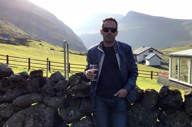 Un paisaje típico. Pablo sueña con una Argentina próspera y fantasea con poder vivir parte del año en Argentina y la otra en la Islas Feroe.