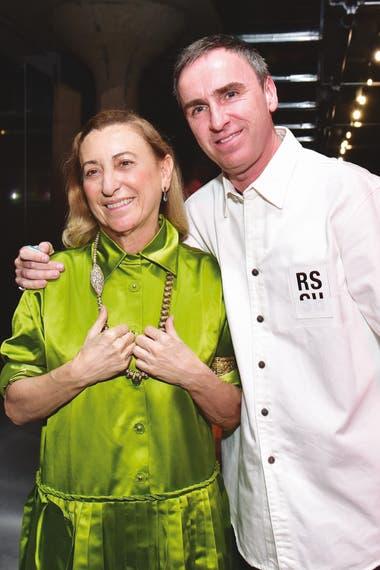 La sociedad creativa de Miuccia Prada y Raf Simons