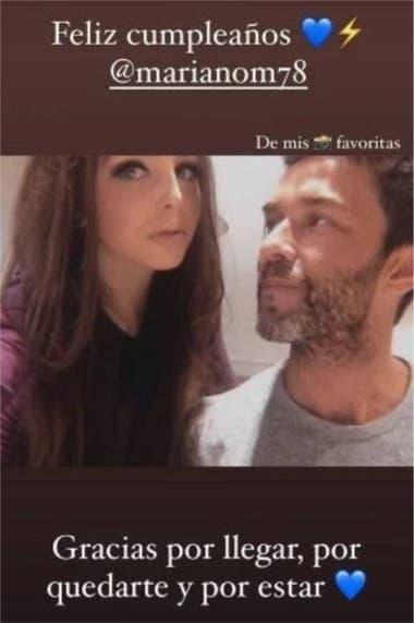 El saludo de María Fernández a Mariano Martínez que despertó sospechas de romance