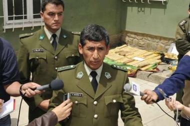 """Sanabria fue considerado como """"el mejor alumno de la DEA"""", que lo instruyó para comandar la lucha antidroga en Bolivia"""