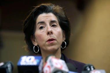 Gina Raimondo,Secretaria de Comercio