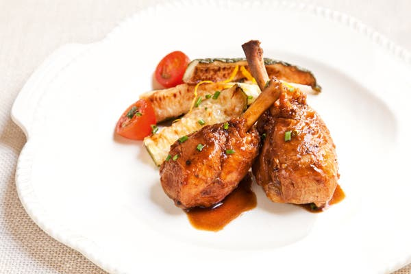 Receta de Patas de pollo y zucchinis
