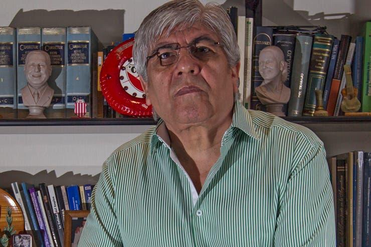 Moyano negó que la marcha sea una respuesta al avance de las causas que lo involucran