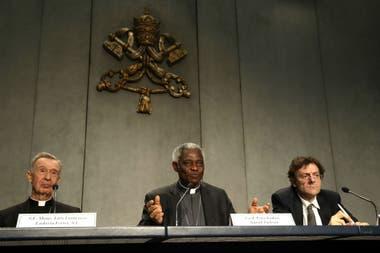 La presentación del documento en el Vaticano
