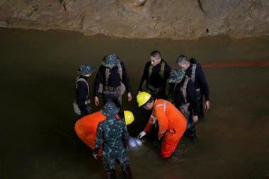 Las autoridades lograron encontrar a los jóvenes perdidos