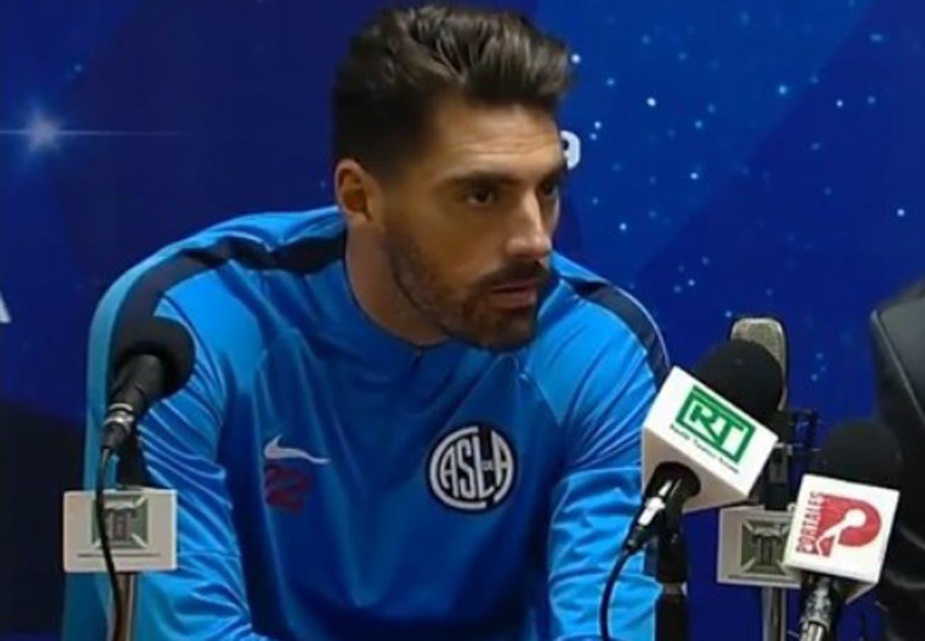 """La tensión del arquero Nicolás Navarro con los chilenos: """"Se meten contra Argentina y no son ningún ejemplo"""""""