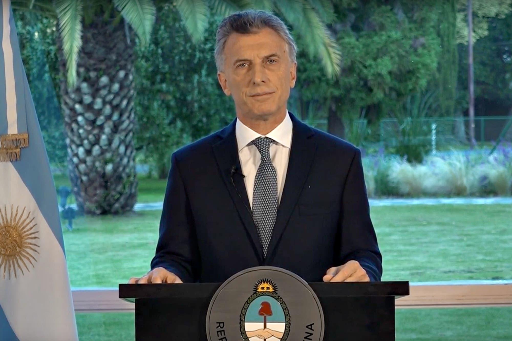 """Mauricio Macri: """"Se abre una etapa para conocer toda la verdad"""""""