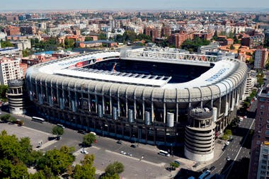 El estadio de Real Madrid, un escenario impensado