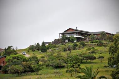 La casa principal del campo del sindicalista Balcedo