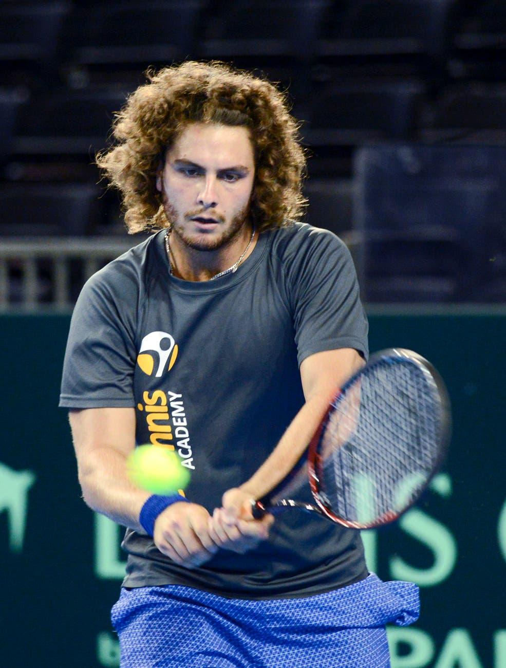 """Trungelliti: sparring del campeón de la Davis, """"Jesús con permanente"""" y el viaje en auto de 10 horas a Roland Garros"""