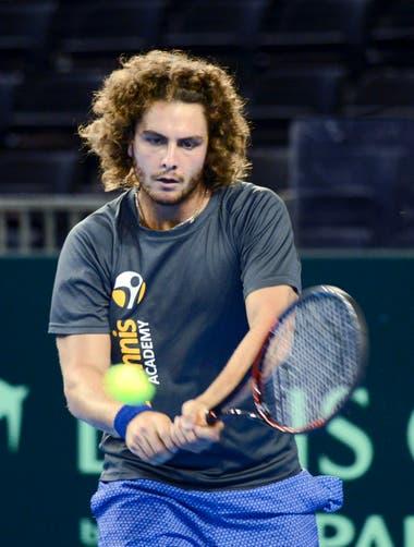 Trungelliti fue sparring de los campeones argentinos de la Copa Davis en 2016