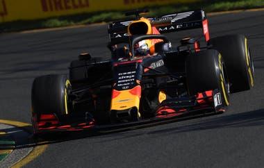 El Red Bull Racing del holandés Max Verstappen