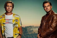 El afiche de Leonardo DiCaprio y Brad Pitt en Once Upon a Time in Hollywood