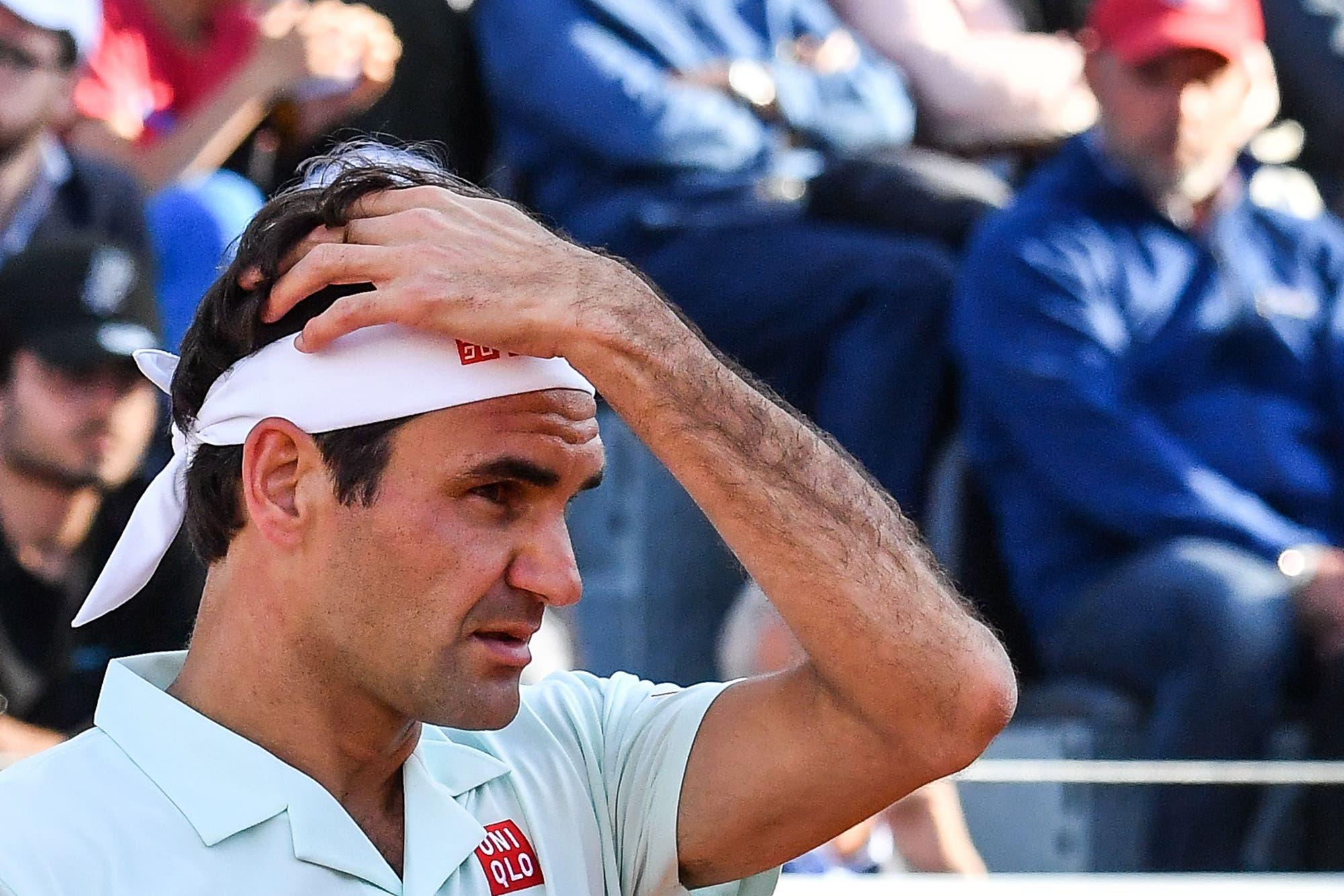 Roger Federer sorprendió con una remera de Mario Bros en la previa de Roland Garros