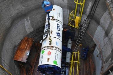 Resultado de imagen para Arroyo Morón: con la llegada de una tuneladora, arrancó una obra clave para sanear el Reconquista