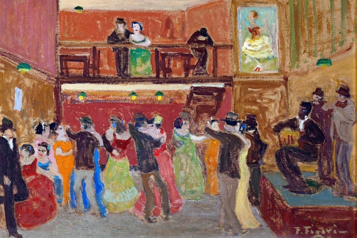 """Pintura de Figari que llega a Buenos Aires para la muestra """"Mito y creación"""""""