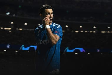 Cristiano Ronaldo, con la camiseta de Juventus.