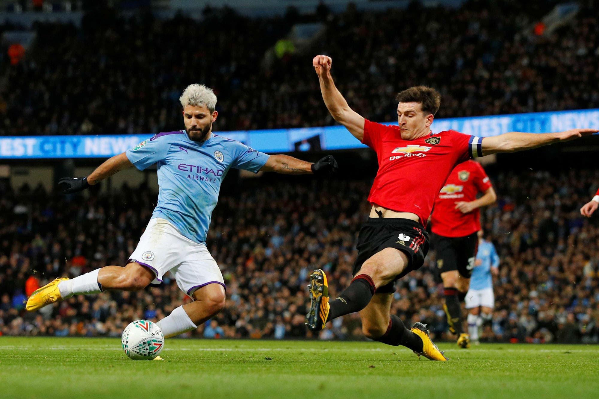 Pese a la derrota en el clásico, Manchester City jugará la final de la Copa de la Liga de Inglaterra