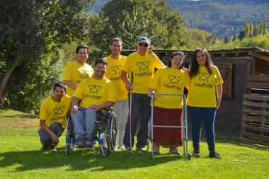 En San Martín de los andes, todos colaboran en el proyecto de hogar convivencial Casa Tuya.