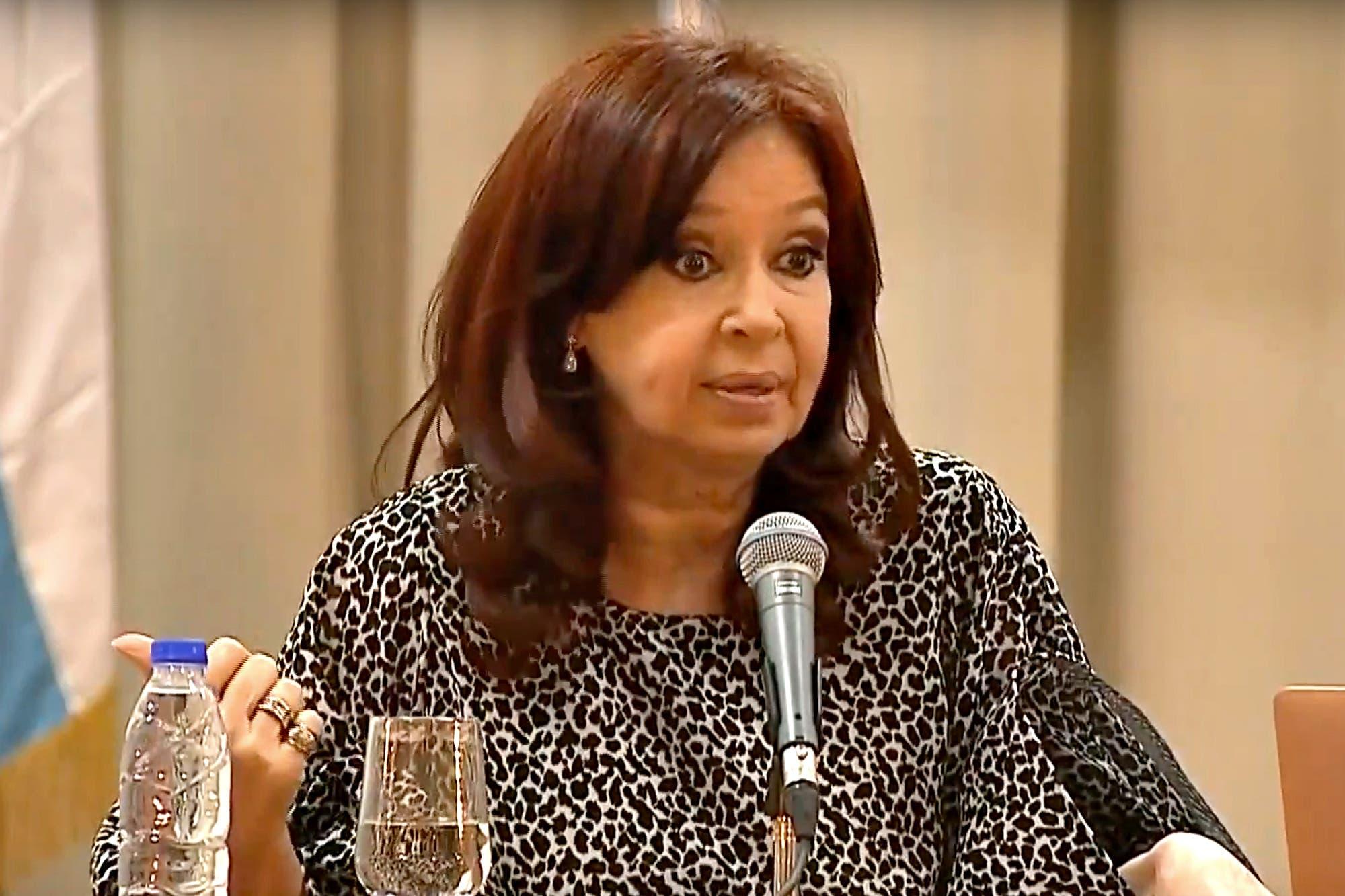 Deuda: la fuerte crítica de Cristina Kirchner al FMI