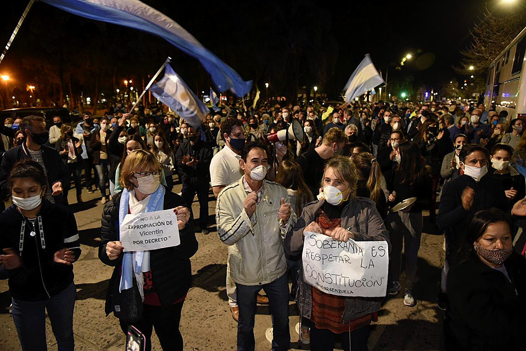 Vicentin. Incómodo, el peronismo de Córdoba y Santa Fe espera que no se repita una protesta como con la 125