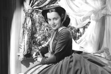 Olivia de Havilland como Melanie Hamilton en Lo que el viento se llevó
