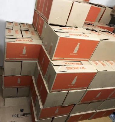 Desde que arrancó la cuarentena, Bierful vende 800 packs por mes