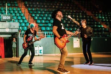 Desde el Luna Park, Ciro y Los Persas fue una de las bandas que tocó en vivo en el Cosquín Rock