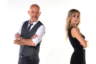Guillermo López y Soledad Fandiño, los conductores del nuevo programa de América: Santo Sábado