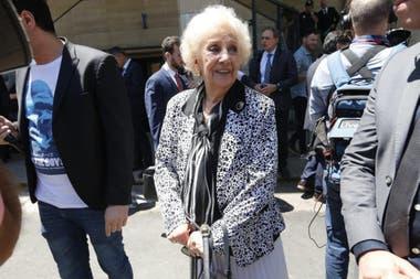 Estela Carlotto es una de las que participará en el encuentro