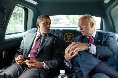Barack Obama y Joe Biden