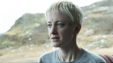 Andrea Riseborough en Crocodile