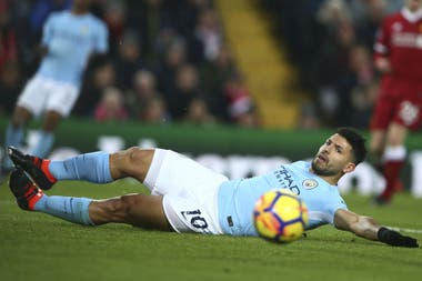 Sergio Agüero, uno de los protagonistas de la serie documental All or Nothing: Manchester City