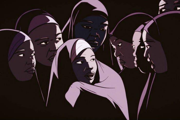 """""""Estaba en una carpa con otras nueve niñas"""""""