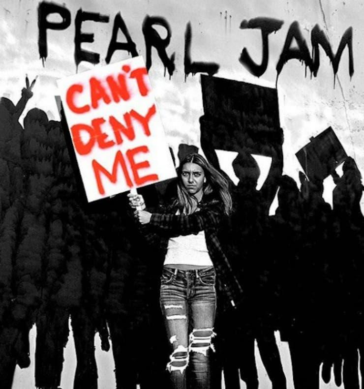 La gráfica del nuevo single de Pearl Jam,