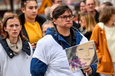 Angélique Six desapareció en el miércoles y su cuerpo fue encontrado el sábado