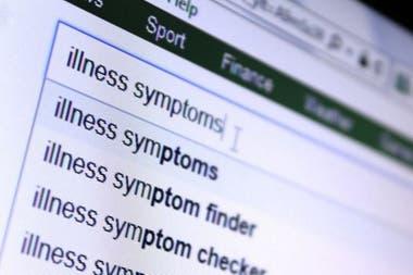 En Internet hay una gran cantidad de información sobre enfermedades