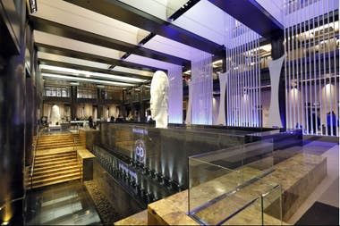 El lobby del hotel Grand Hyatt New York
