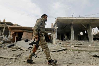 Los duros combates por la reconquista dejaron pueblos enteros reducidos a escombros