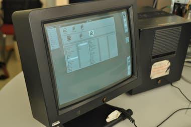 La computadora NeXT en la que Tim Berners-Lee creó el concepto de la Web