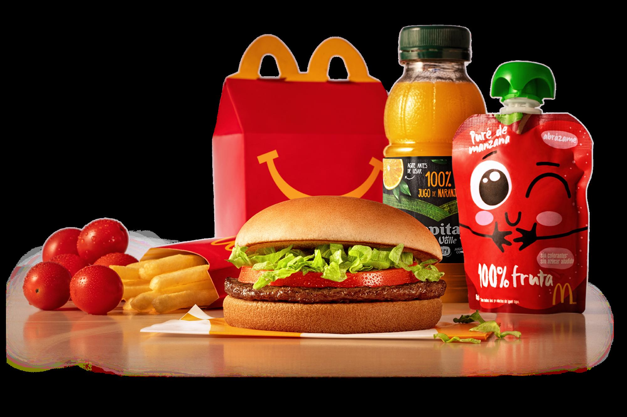 McDonald's modificó su Cajita Feliz para ofrecer un menú infantil más saludable