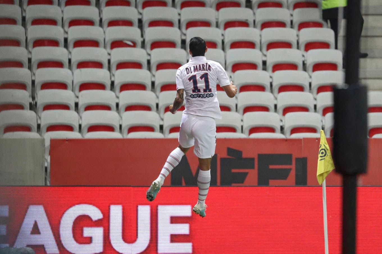 Di María para enmarcar: dos goles del argentino garantizaron el triunfo de PSG